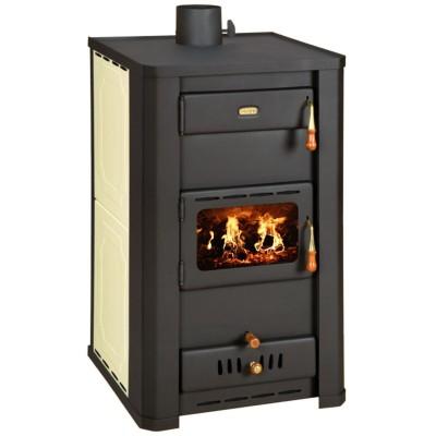 WoodBurning Stove Boiler Fireplace MultiFuel Log Burner Prity S3W21