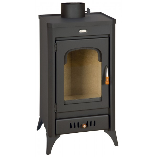 Wood Burning Stove Fireplace Multi Fuel Log Burner Ceramic Glass 11 kw Prity SR