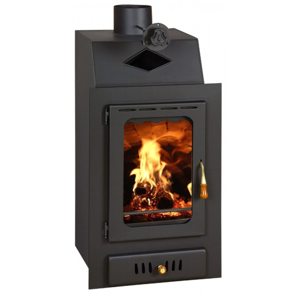 Insert Boiler Fireplace Built in Wood Burning Central Heating Prity VMW15