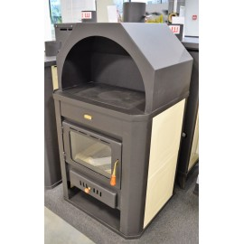 Woodburning Stove Integral Boiler WoodBurner Fireplace Prity W17 DIFF. COLOR