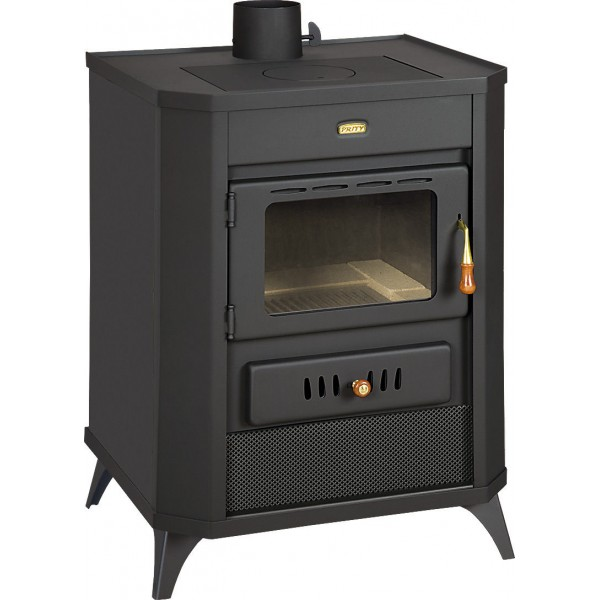 Wood Burning Stove Fireplace Multi Fuel Log Burner Ceramic Glass 15kw Prity WD E