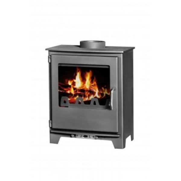 Wood Burning Stove Fireplace Log Burner Modern Multi Fuel NEO 5 kW