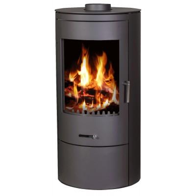 Wood Burning Stove 7-10 kW Fireplace Log Burner Top Flue Low Emissions BlmSchV-2