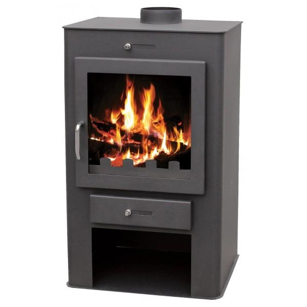 Wood Burning Stove 16 kW Fireplace Log Burner Low Emissions BlmSchV-2