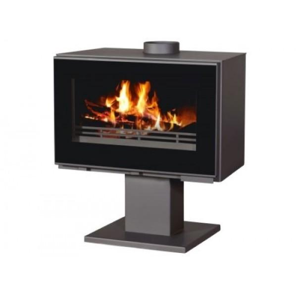 Wood Burning Stove 14kW Fireplace Log Burner Top Flue Low Emissions BlmSchV-2