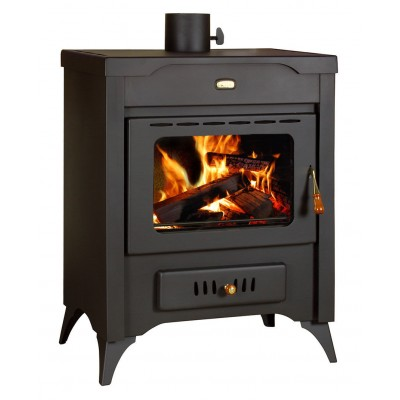 Wood Burning Stove Air Jacket Solid Fuel Fireplace Log Burner 10 kw Prity MR