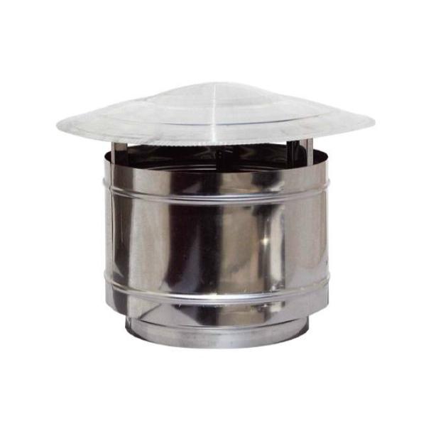Chimney Cowl Stainless Steel Chimney Top Static Inox Diameter 100 to 350 mm
