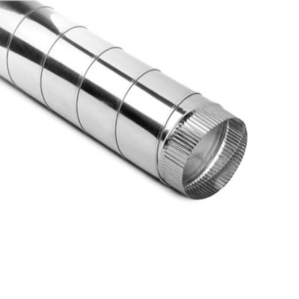 Inox Chimney Pipe without thermal insulation diameter 100 to 350 mm
