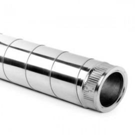 Inox Chimney Pipe with thermal insulation diameter 100-150mm to 300-350 mm