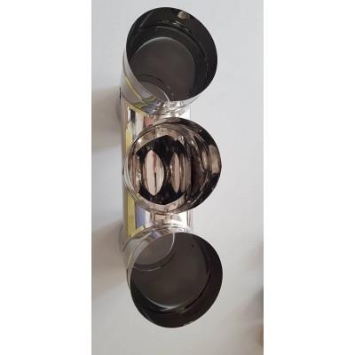 Chimney H Hat Stainless Steel Chimney Cowl 100 to 300 mm Diameter Flue Chimney