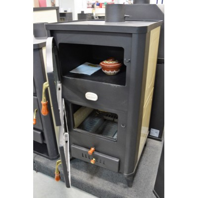 WoodBurning Stove Boiler Oven Cooker Log Burner 26kw Prity FGW20