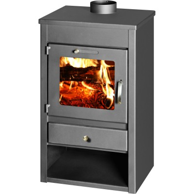 WoodBurning Stove Fireplace High Efficient Modern Log Burner New STILO 9 KW