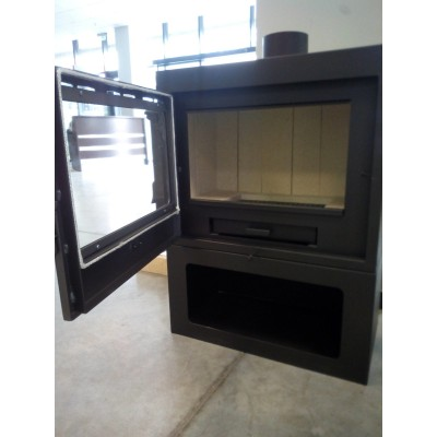 WoodBurning Stove Multi Fuel Log Burner Fireplace New Panorama 13 kw