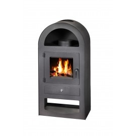 Wood Burning Stove Galant With Niche