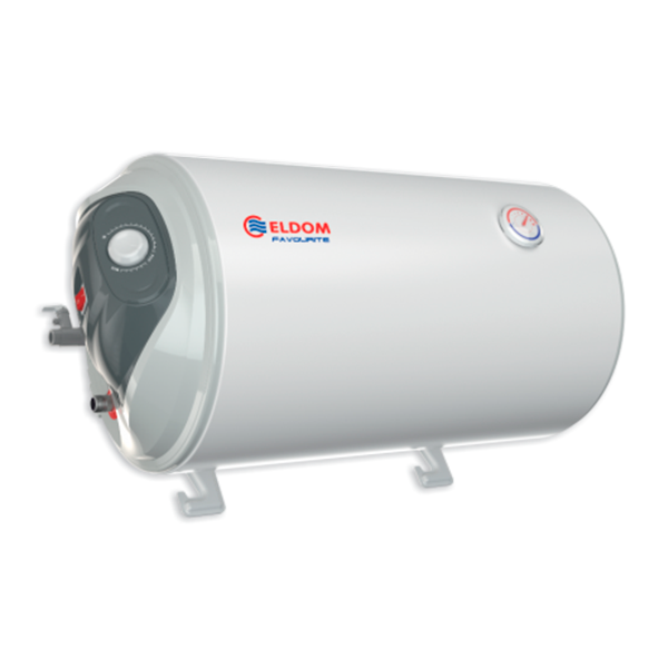 Water heater 50 L, 2 kW, Horizontal Enamelled, left outlets WH05039L