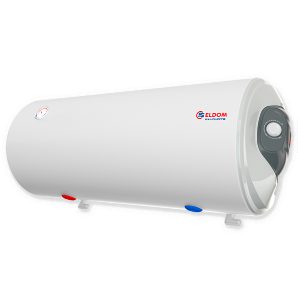 Water heater 100 L, 3 kW, Horizontal Enamelled, right el. outlets, water outlets on the bottom WH10046BR
