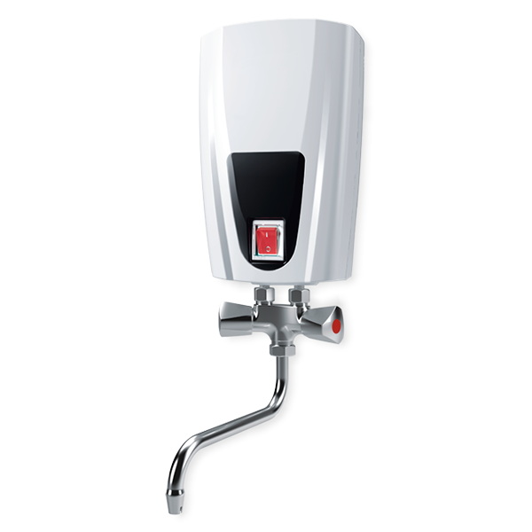 Instantaneous water heater with metal head mixing tap, 3,5 kW E41