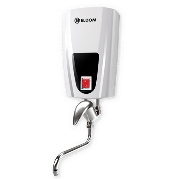 Instantaneous water heater with ceramic head mixing tap, 3,5 kW Е42