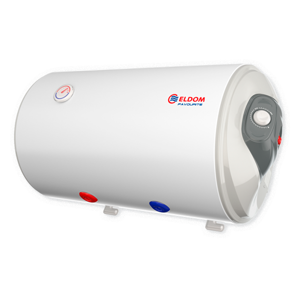 Water heater 80 L, 3 kW, Horizontal Enamelled, right el. outlets, water outlets on the bottom WH08046BRI