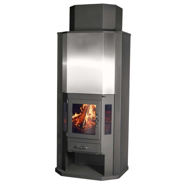 Wood Burning Stove Diplomat 11 Inox