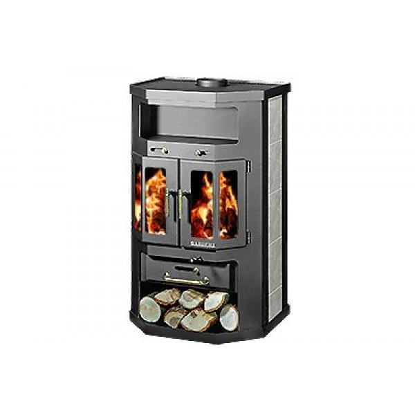 Wood Burning Stove With Integral Boiler Favorit 2 KXB
