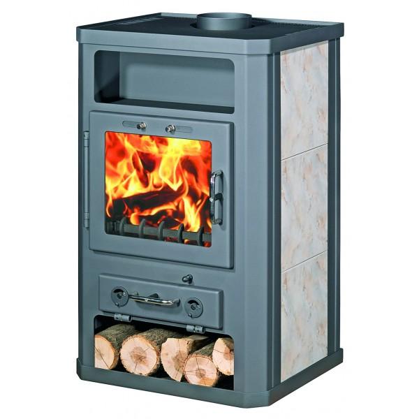 Wood Burning Stove With Integral Boiler Komfort 21 KXLB