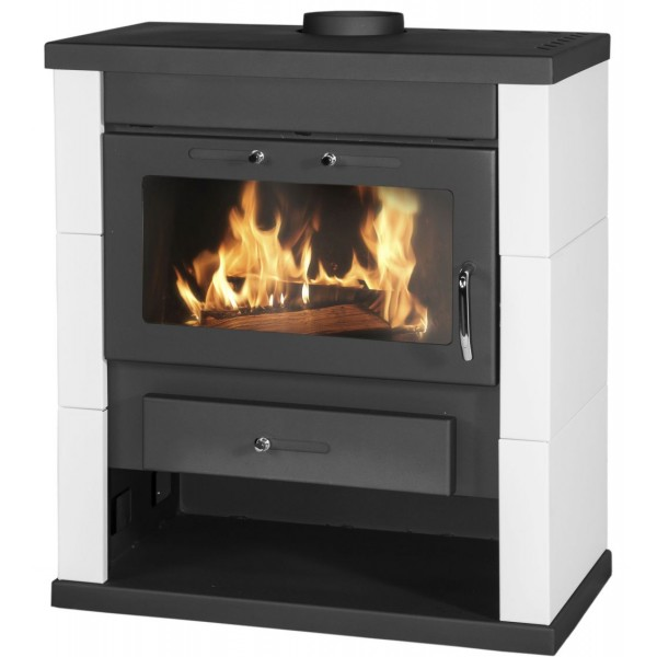 Wood Burning Stove Modena Lux Color