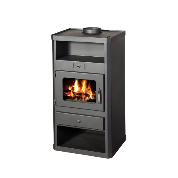 Wood Burning Stove With Integral Boiler Norma B