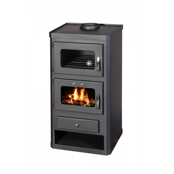 Wood Burning Cooking Stove With Integral Boiler Norma B