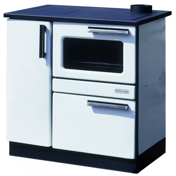Wood Burning Cooking Stove With Oven And Integral Boiler Plamak B