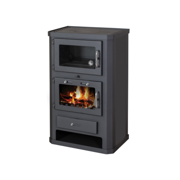 Wood Burning Stove With Oven Comfort F