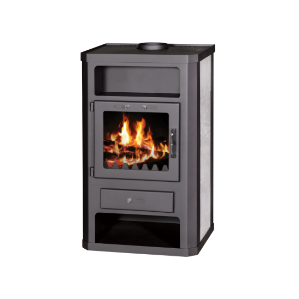 Wood Burning Stove With Oven and Integral Boiler Comfort KB