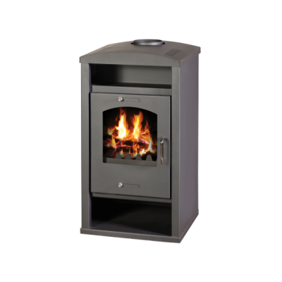 Wood Burning Stove with Integral Boiler Deluxe AB