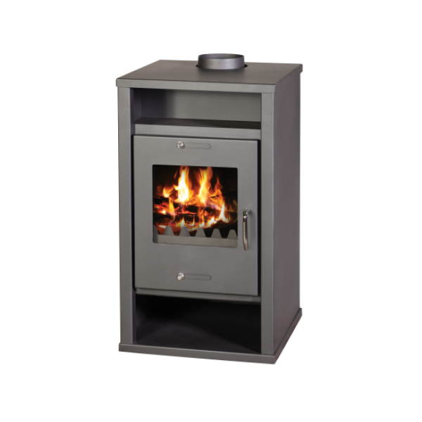 Wood Burning Stove with Integral Boiler Deluxe B