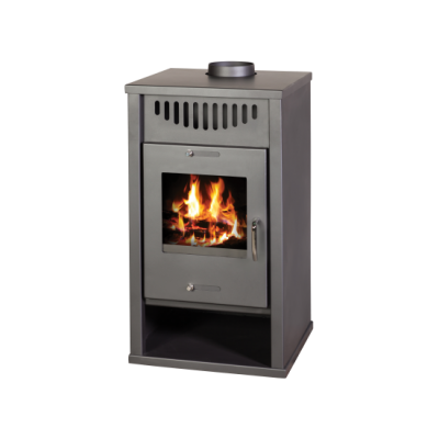 Wood Burning Stove with Integral Boiler Deluxe EB