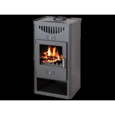 Wood Burning Stove With Integral Boiler Elegant B