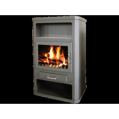 Wood Burning Stove With Integral Boiler Grande MAX B-25