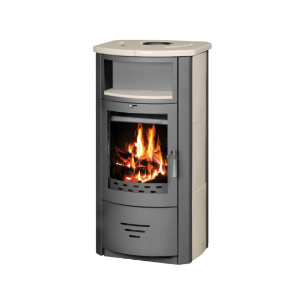 Wood Burning Stove With Integral Boiler Marinela PBO-t