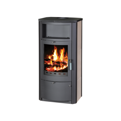 Wood Burning Stove With Integral Boiler Marinela PKBO-t