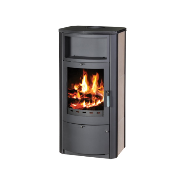 Wood Burning Stove With Integral Boiler Marinela PKBO-t