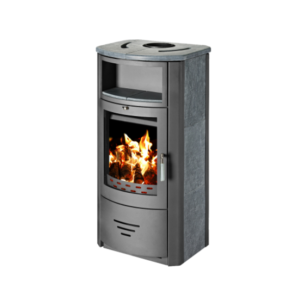 Wood Burning Stove With Integral Boiler Marinela PSBO-t