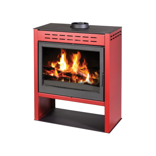 Wood Burning Stove Onyx - Red Color