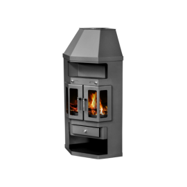 Wood Burning Stove With Integral Boiler Panama 2 AB