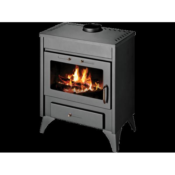 Wood Burning Stove With Integral Boiler Ray Max B