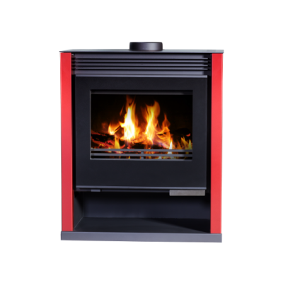 Wood Burning Stove Rubin Lux (RedColor)
