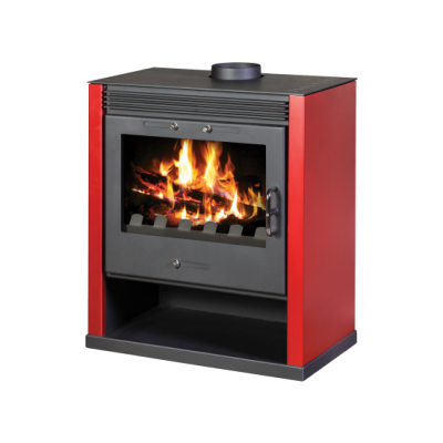 Wood Burning Stove Rubin (Red Color)