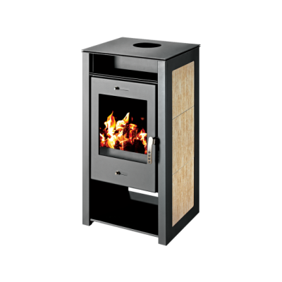Wood Burning Stove With Integral Boiler Spectra KBO