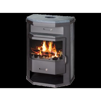 Wood Burning Stove With Integral Boiler Titan SBO-tw