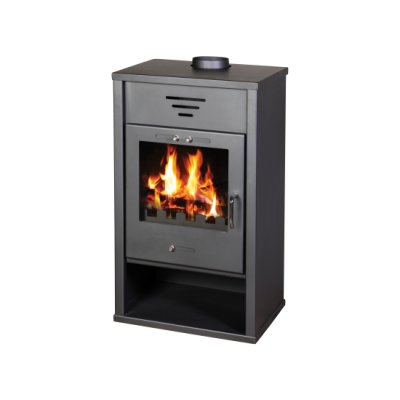 Wood Burning Stove With Integral BoilerTriumph B