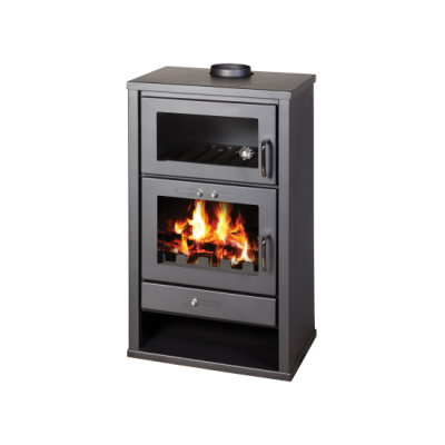 Wood Burning Stove with Integral Boiler and Oven Triumph FB 21